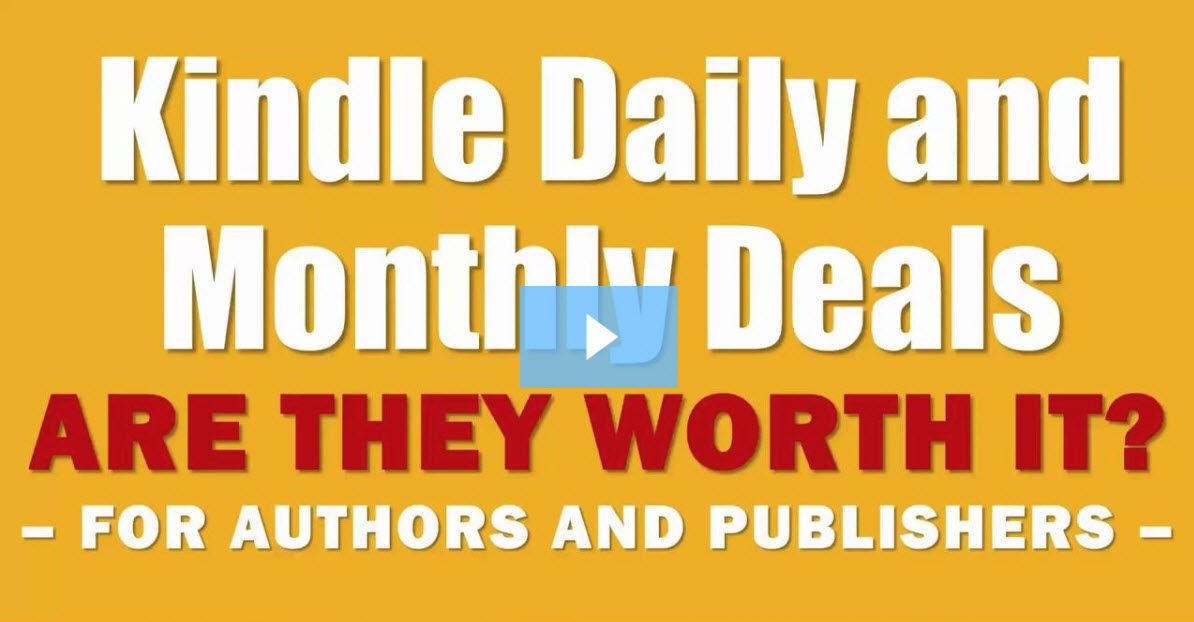 Are Kindle Daily Deals worth it for authors and publishers