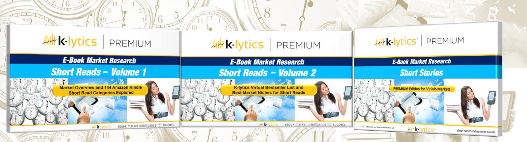 Shortreads and Short Stories – Kindle E-Book Market Secrets